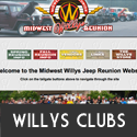 Willys Clubs and Events
